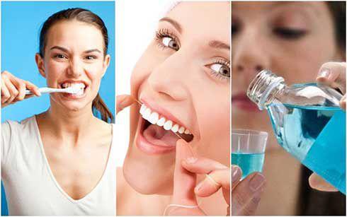 Image result for chăm soc răng sứ